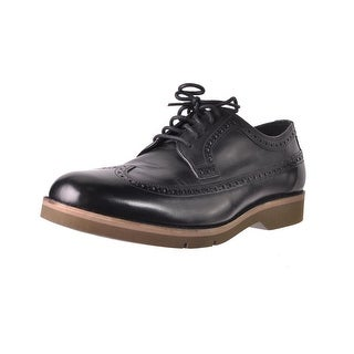 Cole Haan Mens Great Jones XL Wingtip Shoes Leather Brogue