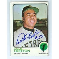 Detroit Tigers 1973 Topps No. 433 Willie Horton ed Baseball Card