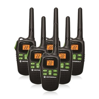 Motorola MD200TPR Talkabout FRS / GMRS Two Way Walkie Talkie Radio 6 Pk New