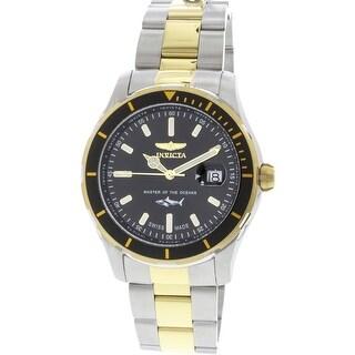 Invicta Men's Pro Diver 25814 Silver Stainless-Steel Swiss Quartz Diving Watch