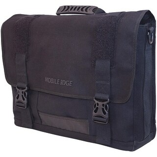 "Mobile Edge Eco Messenger Bag MECME1 Black 17.3"" carrying bag"