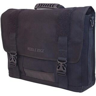 "NEW - Mobile Edge Eco Messenger Bag MECME1 Black 17.3"" carrying bag MECME1"