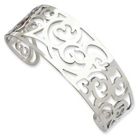 Chisel Stainless Steel Fancy Cuff Bracelet
