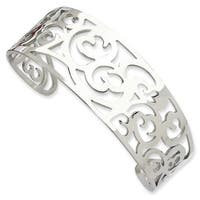 Chisel Stainless Steel Fancy Cuff Bracelet