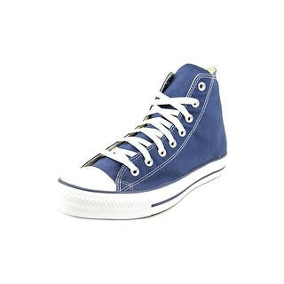 Converse Chuck Taylor All Star Hi Men Round Toe Canvas Blue Sneakers