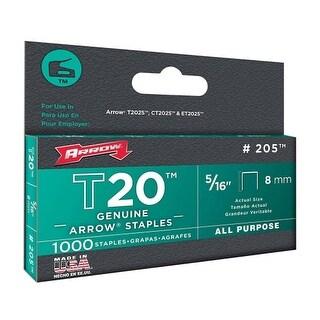 """Arrow 208 T20 Staples, 1/2"""""""