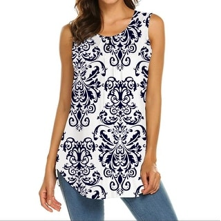 Link to Haute Edition Women's Sleeveless Paisley Tunic tops. Plus available Similar Items in Dresses