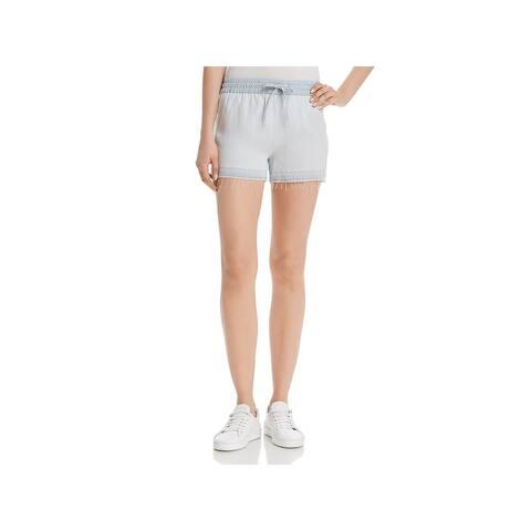 DL1961 Womens Shorts Tencel High Rise