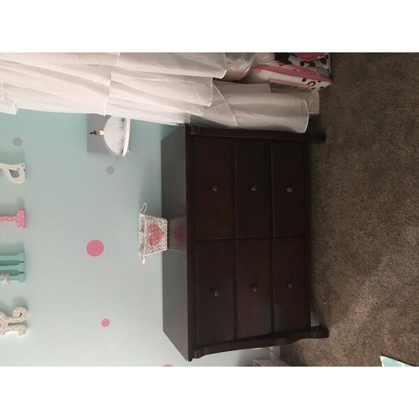 Delta Children Universal 6 Drawer Dresser Black Cherry Espresso Free Shipping Today 21517092