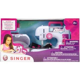 Singer EZ-Stitch Chainstitch Sewing Machine W/Sewing Box-