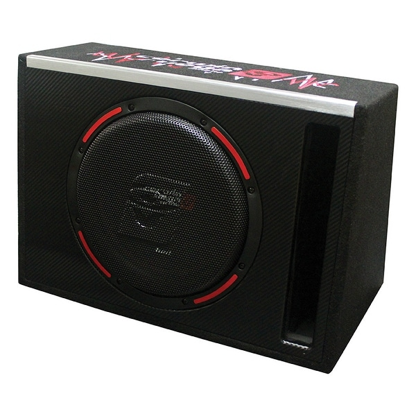 "HED 10"" Single Loaded Slot-Vented Enclosure 250W RMS/1000W MAX"