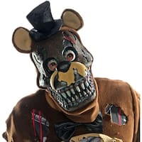 Five Nights At Freddy's Nightmare Freddy Costume Mask - Brown