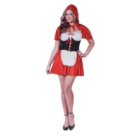 Spicy Little Red Riding Hood Costume, Size 10-14