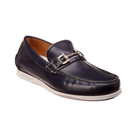 Salvatore Ferragamo Faro Leather Loafer