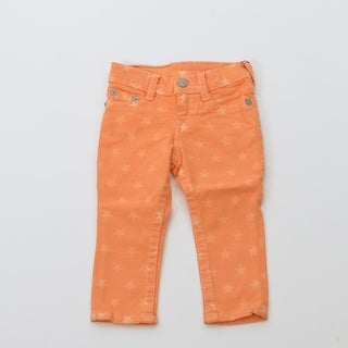 True Religion Infant Casey Star In Faded Carrot