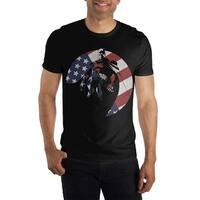 Batman Americana Mens T Shirt