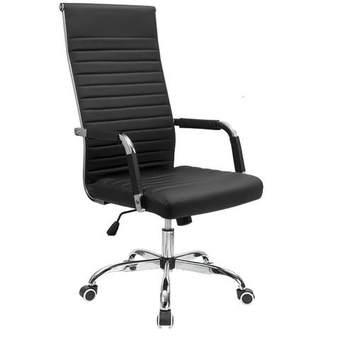 Homall Ribbed Office Chair High Back Conference Chair