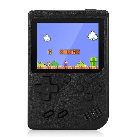 Ragebee 500IN1 Built-in 500 Games 3.0 Inch Color LCD 2 Player Handheld Game Console