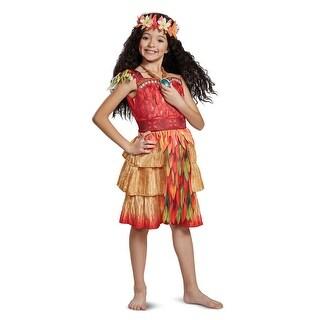 Girls Deluxe Moana Epilogue Hawaiian Disney Costume