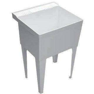 "Proflo PFLT2123 23"" Single-Basin Free Standing Laundry Sink"