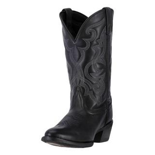 Laredo Western Boots Womens 11 Maddie Cowboy Round Toe Black