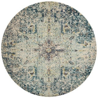 Link to Alexander Home Vintage Boho Medallion Distressed Rug Similar Items in Classic Rugs