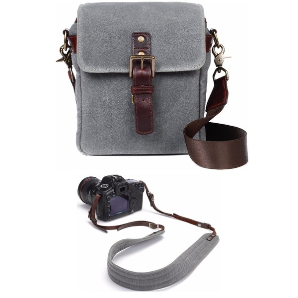 ONA Bond Street Camera Messenger Bag w/ Presidio Strap (Smoke Grey)