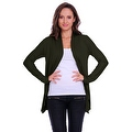Simply Ravishing Women's Basic Long Sleeve Open Cardigan (Size: Small-5X) - Thumbnail 6