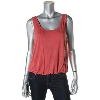 Free People Womens Linen Sleeveless Crop Top - XS