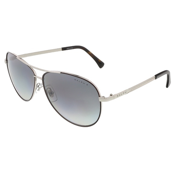Ralph Lauren RA4109 3011T3 Brown/Silver Aviator sunglasses