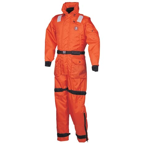 Mustang deluxe anti-exposure coverall & worksuit m or