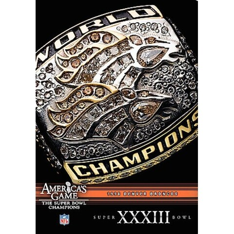 NFL Americas Game: Denver Broncos Super Bowl XXXIII - DVD