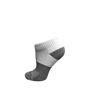 Incrediwear Unisex Active Sock Low Cut, White, M