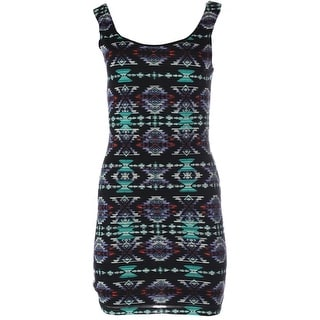 B. Darlin Womens Juniors Pattern Sleeveless Casual Dress - 7/8