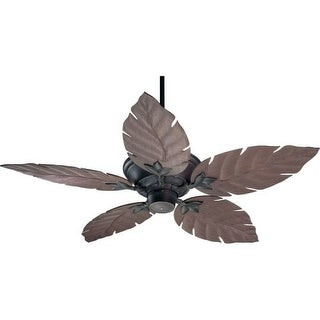 Quorum International Q135525 Indoor / Outdoor Ceiling Fan from the Monaco Patio Collection