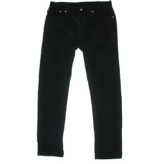 Polo Ralph Lauren Mens Slim/Straight Fit Flat Front Corduroy Pants