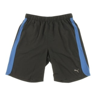 Puma Mens Lightweight Contrast Stripe Shorts