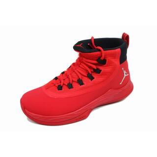 new style 72ddd 35eeb ... Nike Men s Air Jordan Ultra Fly 2 TB University Red Metallic Silver  921211-606 ...