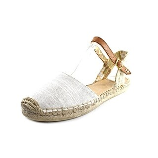 Sperry Top Sider Hope Women Round Toe Canvas Ivory Espadrille