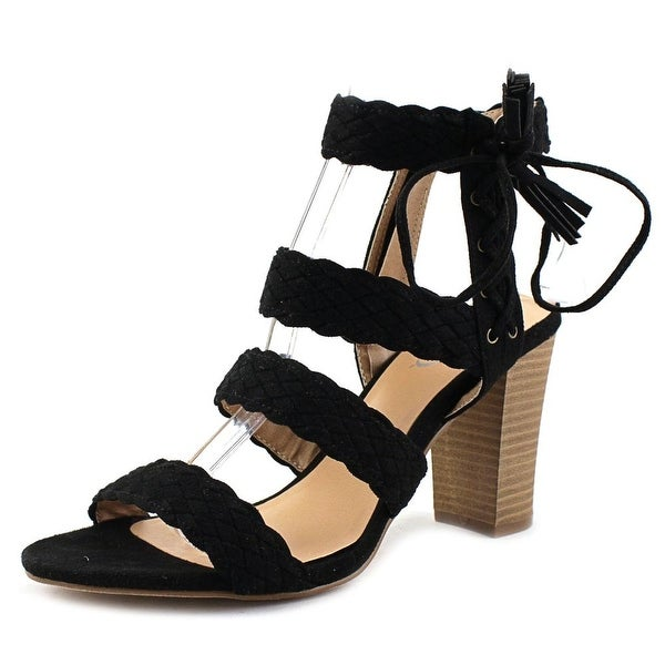 XOXO Binnie Women Black Sandals