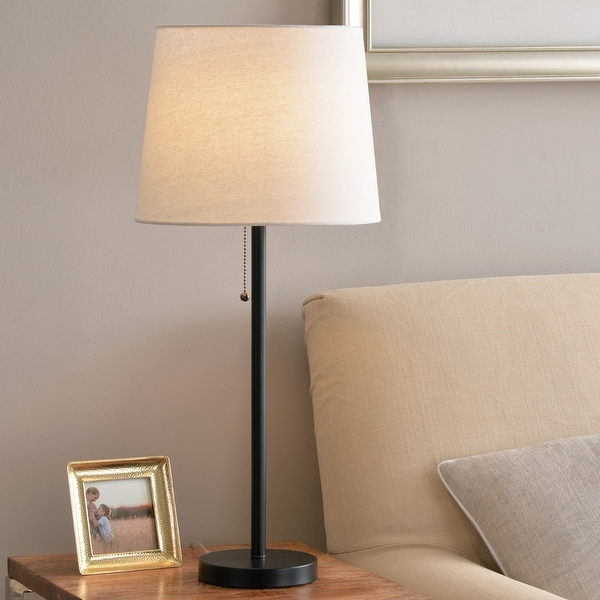 Taylor 27-inch Black Table Lamp. Opens flyout.