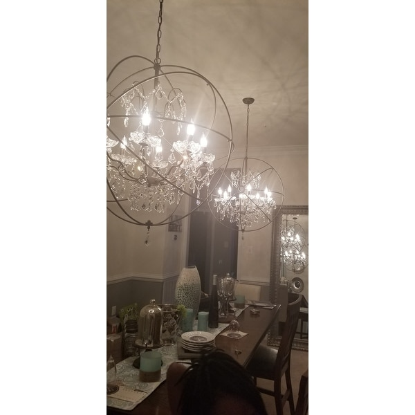 Edwards Antique Bronze 32 Inch Chandelier On Free Shipping Today 9478143