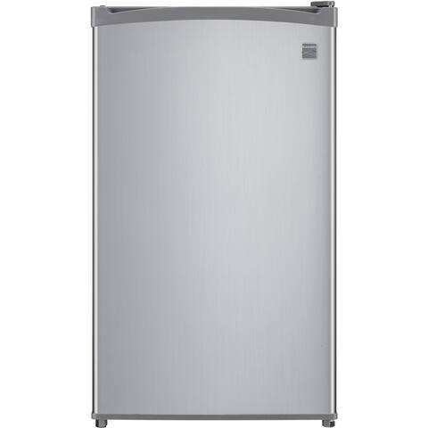 Kenmore 4.4-Cu. Ft. 1-Door Compact Refrigerator, Silver