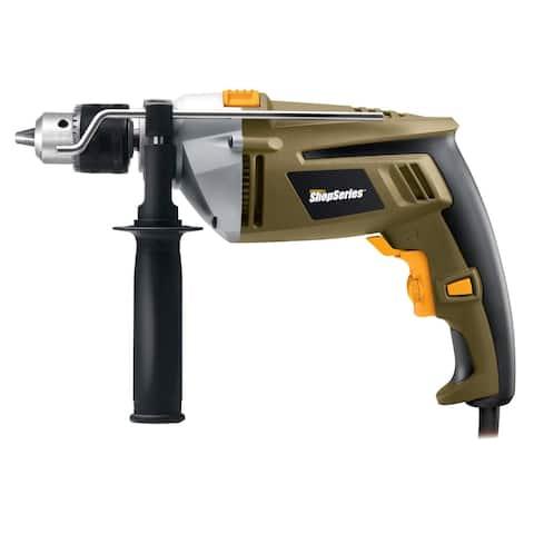 "Rockwell RC3136 Hammer Drill, 1/2"", 7 Amp, 120 V"