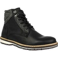 Crevo Men's Brigsdale Boot Black Leather
