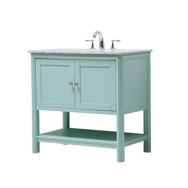 Shop Black Friday Deals On 36 Single Bathroom Vanity Set Overstock 32598307