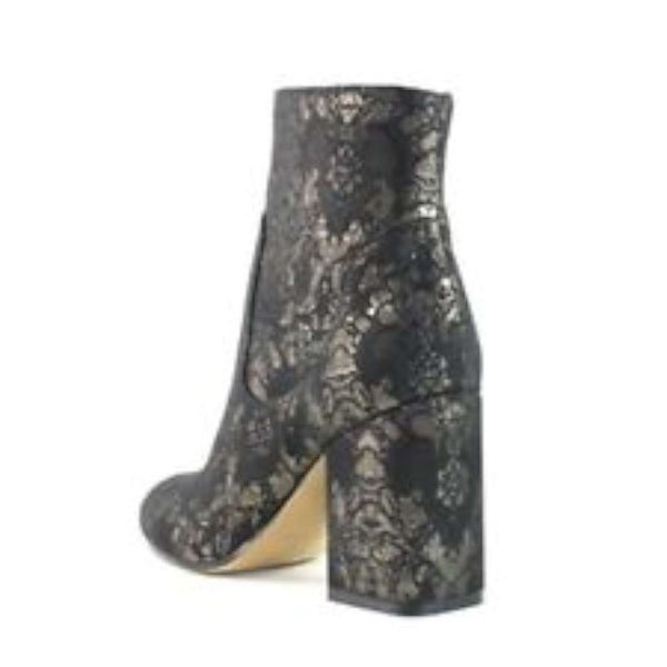 Marc Fisher Womens JANA Fabric Almond Toe Ankle Fashion Boots - 10