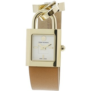 Tory Burch Women's Surrey TB7001 Gold Leather Quartz Fashion Watch