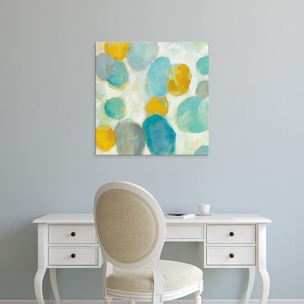 Easy Art Prints Silvia Vassileva's 'Painted Pebbles III' Premium Canvas Art