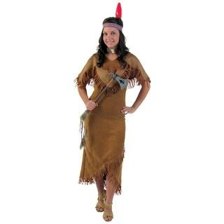 Plus Size Deluxe Women's Indian Costume